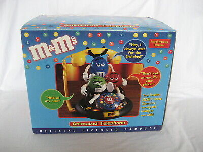 $41.99 • Buy M&m's-   M&m Animated Telephone(it Moves & Lights Up)-  New In Box