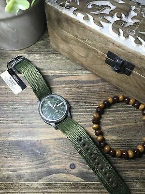 $ CDN259.26 • Buy Seiko 5 Military Automatic SNK805K2 Men's Field Watch Green New Boxed