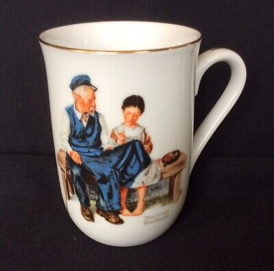 $ CDN3.77 • Buy Norman Rockwell Museum Coffee Mug Cup The Lighthouse Keeper's Daughter 1982