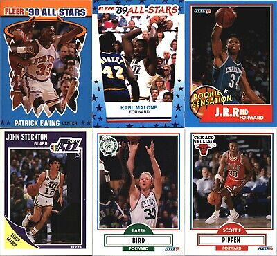 $0.99 • Buy 1989-90 + 1990-91 Fleer Basketball Cards~ You Pick All $0.99 ~ NM-MT Or Better
