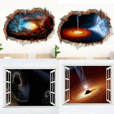 £7.99 • Buy Space Galaxy Stars Planets Universe 3d🔥wall Stickers Kids Boy Room Home Decor🔥