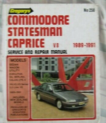 AU25 • Buy Holden Commodore Statesman And Caprice VN VG VQ Workshop Manual