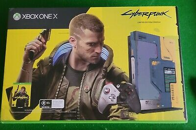 AU390 • Buy Microsoft Xbox One X Cyberpunk 2077 Limited Edition 1TB Console