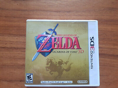 AU19.66 • Buy The Legend Of Zelda: Ocarina Of Time 3D (3DS, 2011) Perfect