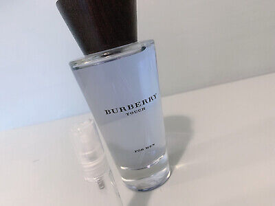 Burberry Touch For Men 5ml EDT Sample Of 100% Genuine Scent • 5.95£