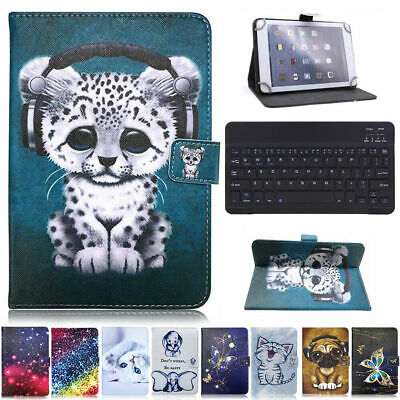 AU17.99 • Buy For Laser 10  Inch Android Tablet Keyboard Universal Printed Leather Case Cover