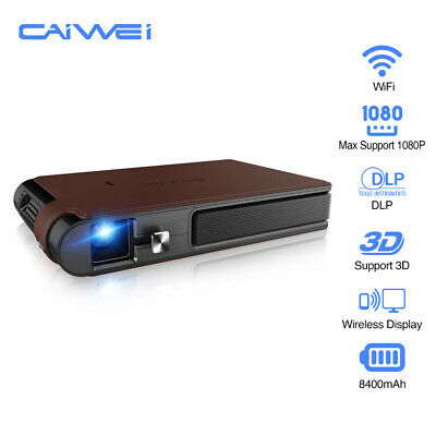 AU419.99 • Buy CAIWEI 3600lms 3D WiFi Projector Home Movie Meeting Mirror Screening HDMI 7000:1