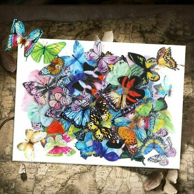 AU2.56 • Buy 40x Cute Stickers Paper Butterfly Stationery Bullet Journal Japanese Diary Gift.
