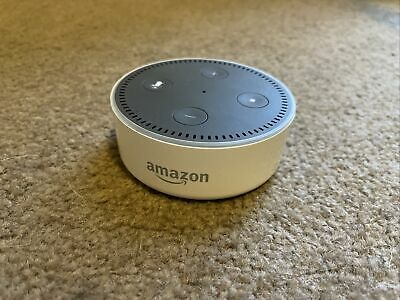 AU12 • Buy Amazon Echo Dot (2nd Generation) Smart Assistant - White + Cable