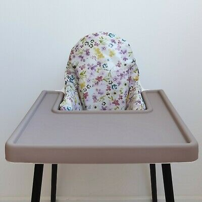 £25 • Buy IKEA Antilop Highchair Cushion Cover   Waterproof   Wipeable   Pink Floral