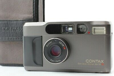 $ CDN1237.18 • Buy [Exc.+5 In Case] Contax T2D T2 D Titan Black Point & Shoot Film Camera  JAPAN