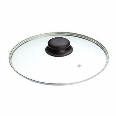 £7.99 • Buy Clear Glass Pan Lid With Knob Replacement 30cm