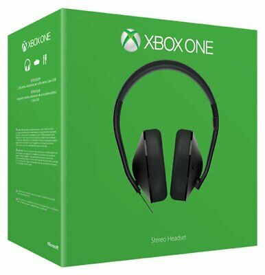 £15.80 • Buy Official Xbox One / Series X Headset Stereo Genuine Microsoft (No Adapter) NEW