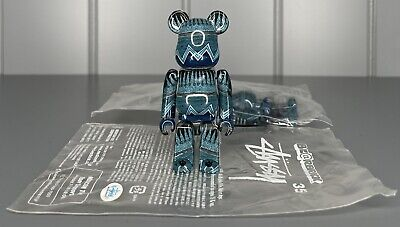 $69.99 • Buy * STUSSY 35th ANNIVERSARY 100% BE@RBRICK LIMITED JAPAN RELEASE RARE BEARBRICK *