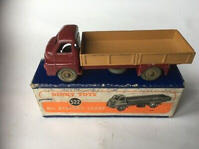 £55 • Buy DINKY TOYS BIG BEDFORD LORRY No 522 BOXED