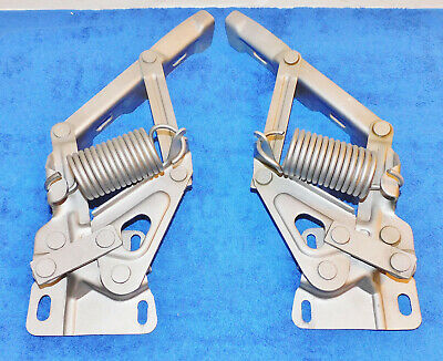 1967 1968 Mustang Fastback Coupe Convert GT A Shelby Cougar ORIG L+R HOOD HINGES • 181.35£
