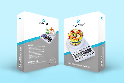 £7.22 • Buy Kitchen Scales 10kg Digital Lcd Electronic Cooking Food Measuring Bowl Scale