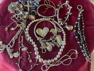 $ CDN18.77 • Buy Vintage Lot Of 15 Pieces Silver JEWELRY