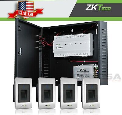 AU1507.50 • Buy ZKTeco Inbio 460 Pro Access Control Kit 4 Door + Biometric Readers Zk, TCPIP