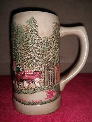 $ CDN49.59 • Buy Rare Numbered Budweiser Champion Clydesdales Beer Stein A&E Eagle Vintage 1980's