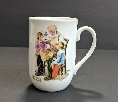 $ CDN13.59 • Buy Vintage NORMAN ROCKWELL The Toymaker Coffee Cup Mug Museum Collection