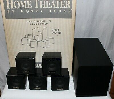 Cambridge Soundworks Ensemble IV Home Theater Speaker System Complete 6 Pc. Set • 60.81£