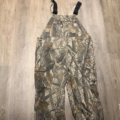 £36.91 • Buy Liberty Advantage Timber Bib Overalls Camo Camouflage Hunting Men's Size 42x31