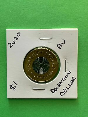AU3.49 • Buy 2020 Australian Donation Dollar $1 Coin New Queen E11 Effigy Lightly Circulated