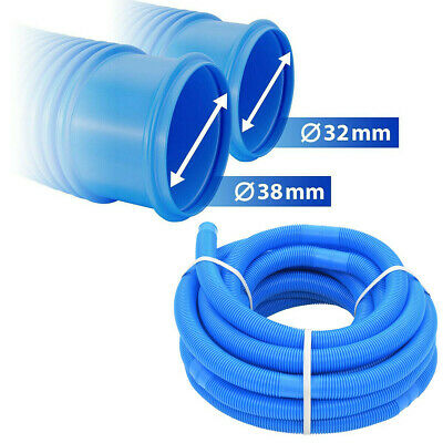 £15.29 • Buy Ø32/38mm 6m Swimming Pool Vacuum Hose Pipe Flexible Filter Connection Tube
