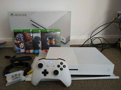 AU300 • Buy Microsoft Xbox One S 500GB Console - White - Barely Used