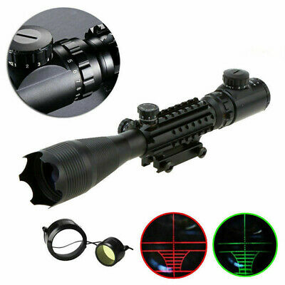 £43.59 • Buy 4-16X50mm Tri-Rail Illuminated Airsoft Sniper Rifle Scope W/ Built In Mount Zoom