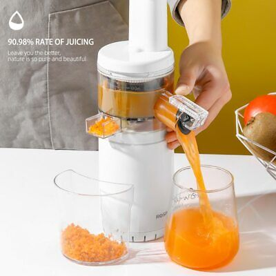 £59.99 • Buy  Free Masticating Slow Auger Juicer Wireless Mini Fruit And Vegetable Cold Press