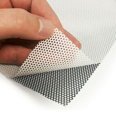 £1.99 • Buy A5 SMALL HOLE Perforated RC Airbrush Stencil Mask Vinyl Film Lexan Body Shell