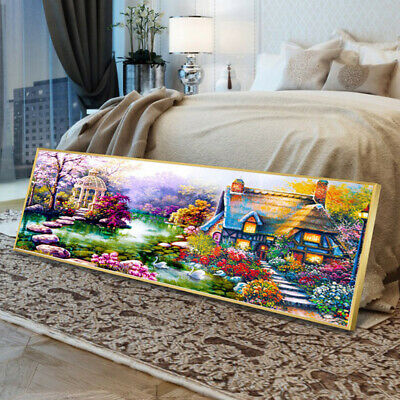 AU16.26 • Buy Full Drill Diamond Painting 5D Cross Stitch Kit Embroidery Craft Art  Decor EH