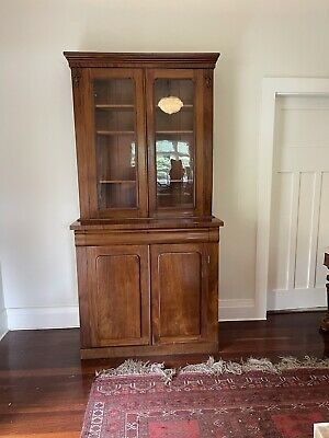AU1750 • Buy Antique Bookcase/display Cabinet
