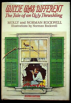 $ CDN50.07 • Buy 1969 Willie Was Different Molly & Norman Rockwell Signed Book Ugly Thrushling