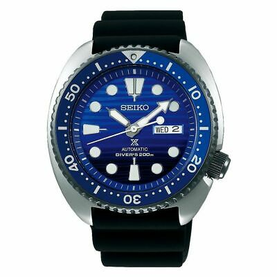 $ CDN372.84 • Buy Seiko SRPC91 Save The Ocean Turtle Diver Watch Blue Dial Black Strap Box Papers