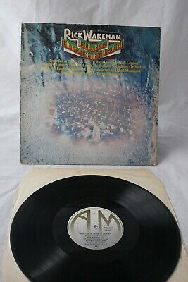 1974 Vinyl LP - Rick Wakeman - Journey To The Centre Of The Earth- A&M Label • 1.25£