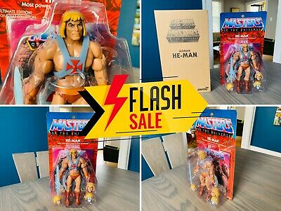 $199.85 • Buy 🔥 Masters Universe He-Man Ultimates Filmation Mailer Super7 MOTUC Classics 🔥