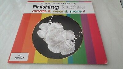 Jewellery Maker Silver Clay Finishing Touches DVD Natalia Coleman • 2.50£