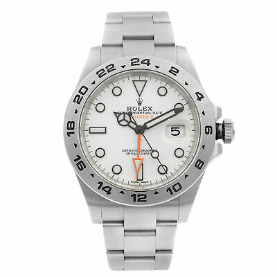 $ CDN16793.04 • Buy Rolex Explorer II GMT Stainless Steel White Dial Automatic Mens Watch 216570