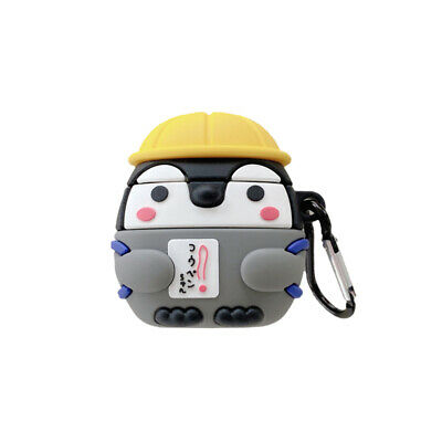 $ CDN10.01 • Buy Airpods Silicone Case Cute 3D Penguin Full Cover For Airpods Pro Charging Case