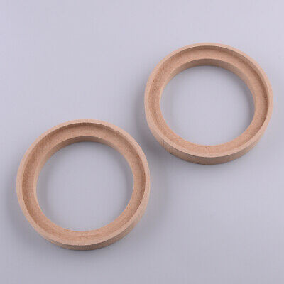 £5.48 • Buy 2pcs 4inch 110mm MDF Speaker Mounting Spacer Rings With Bezel