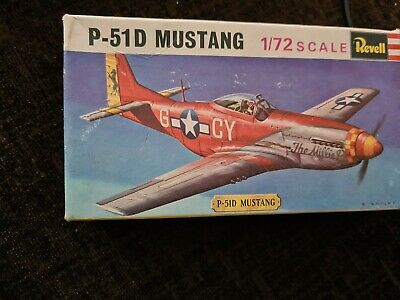 Revell P-51D MUSTANG North American 1960/70s Very Rare  • 2.20£