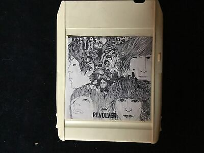 AU58.17 • Buy The Beatles Green Back White Cart 8 Track  REVOLVER 1st Edition (FREE SHIPPIN')