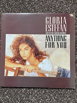 £5 • Buy Gloria Estefan And Miami Sound Machine - Anything For You Album With Lyric Sheet