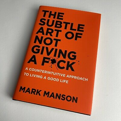 AU18.70 • Buy The Subtle Art Of Not Giving A F*ck By Mark Manson / English / Hardcover