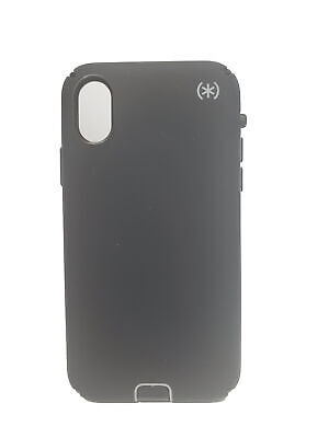 AU24.27 • Buy Speck Presidio Sport Case For IPhone X/XS - Black/Gunmetal Grey/Black