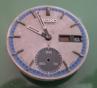 $ CDN187.05 • Buy Seiko  Chronograph  Cal 6139   MOVEMENT For Parts  , Not Complete