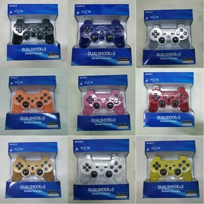 Ps3 SONY Controller GamePad PlayStation 3 DualShock Wireless Bluthtooth SixAxis • 10.99£